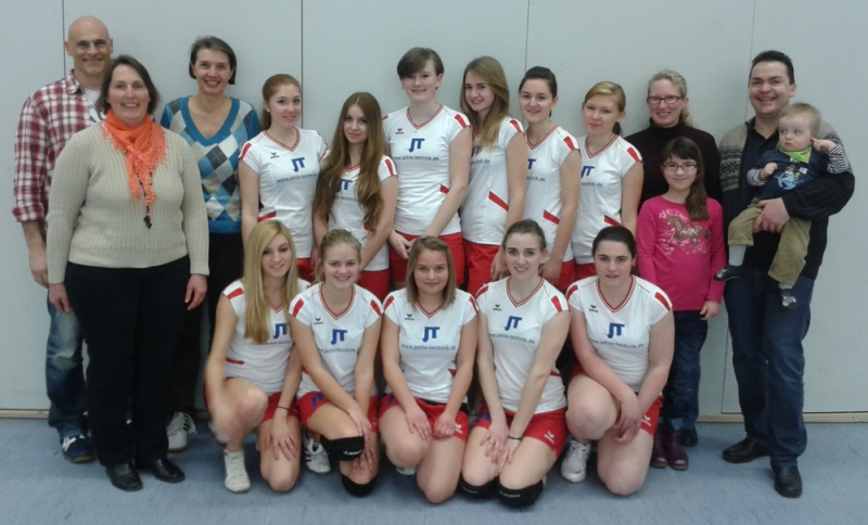 Volleyball Sponsoring Jehle Technik