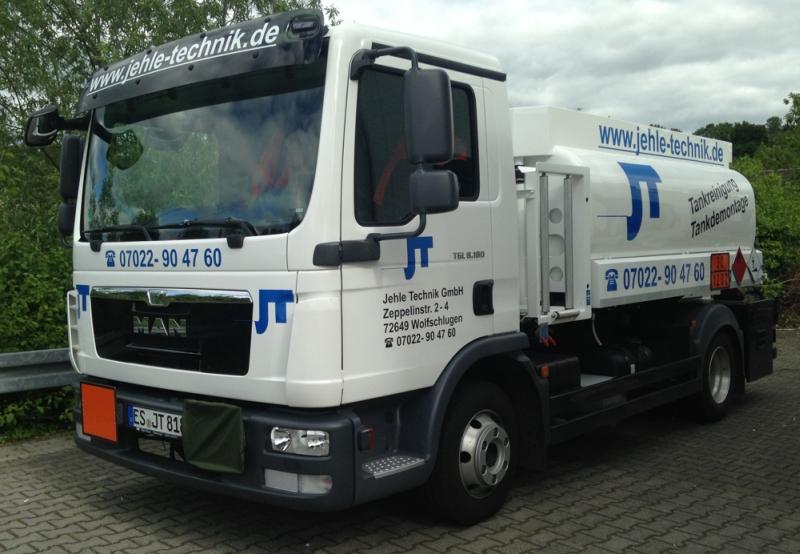Tankwagen von Jehle Technik