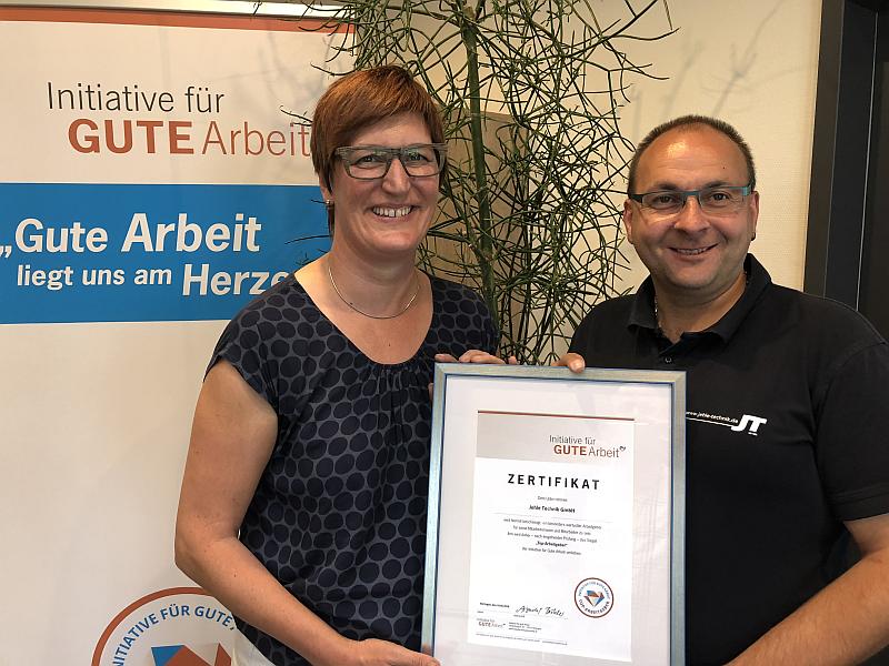 Top-Arbeitgeber Jehle Technik GmbH Auszeichnung